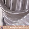 de imitación gamuza de terciopelo a rayas de tapicería apagón cortina de tela