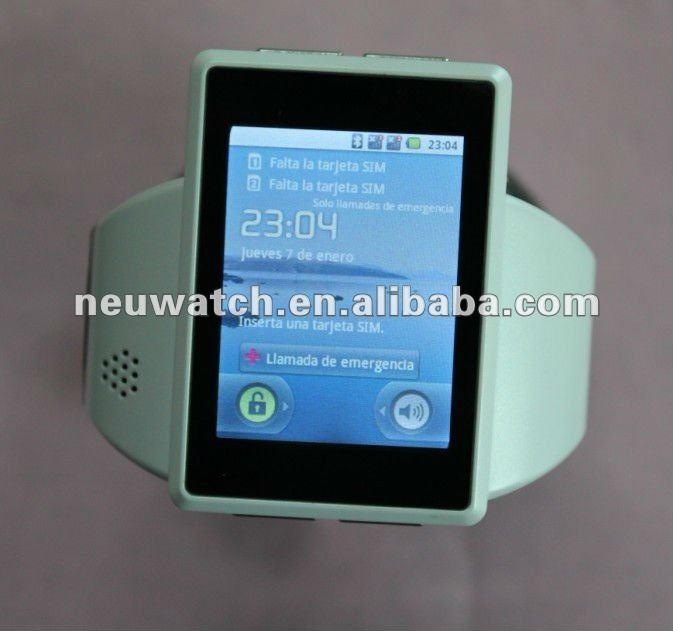 2013 mais recente sistema operacional android 2.2inteligente relógio