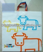 2012 beautiful Plastic bag for packing cloths