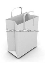new design luxury shopping paper bag/logo printed