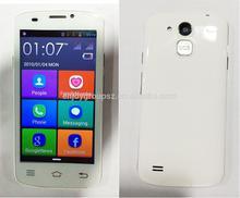Android 4.2 big fonts senior phone W80 dual sim 3g smart phone