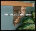 La main en bois sculpture exquis. décoratif corbel, accessoires mur, accessoires cabinet