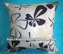 comfortable cushion, Silk Polyester Fabric Pillow, Pillow Case