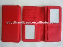 2012 top fashion fabric travel organizer wallet