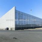 Steel Windbreak and Dust Control System