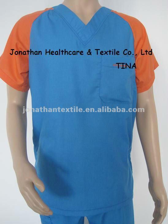 Nuevos diseños de los hombres de la enfermera uniformes/médico friega