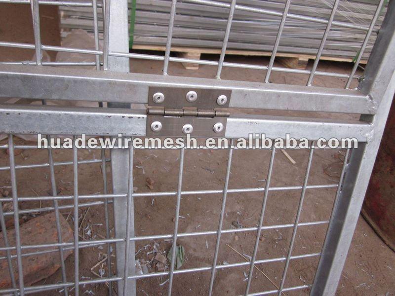 Powder coated Metal Dog Fence Panel
