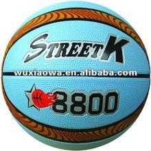Rubber Basketball/ 12 pannels