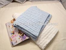 Crochet knit baby Swaddle Blanket