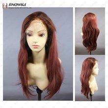 Light Fuschia Pink Human Hair Wig