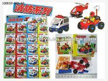 new design small block fire truck