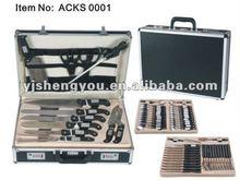 60 pcs plastic knife carry case