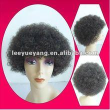 High quality short fluffy fun wig