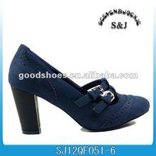 very fashion ladies blue dress shoes