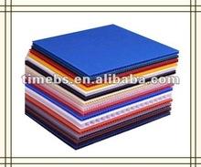 2012 high quality twin wall corrugated plastic board