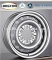 Cheap custom 6 pulgadas $number del perno prisionero 6 x 139.7 medio de acero al este de la rueda llanta de acero