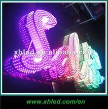 2012 DC 5V High Brightness LED channel letter sign light(Programable, CE)-- XH-056HDZ1RGBZ