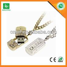 jewelry diamond usb flash drive 4GB