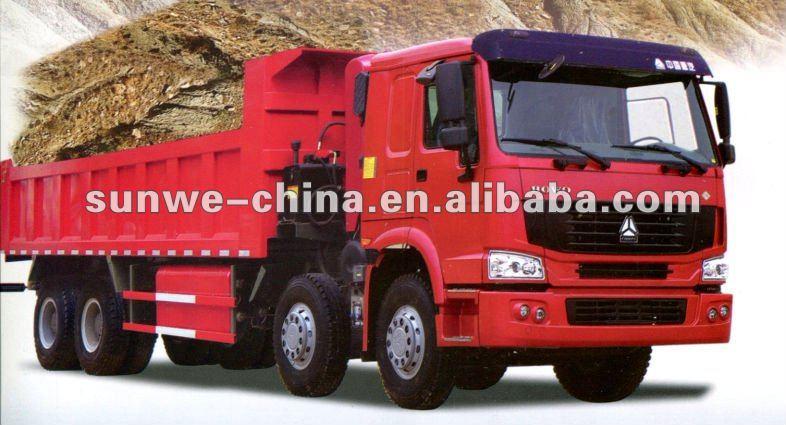 CNG-HOWO 8*4 Dump Truck
