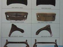 korea auto body parts car part
