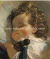 2012 bebek yağlıboya sıcak satış ünlü/duvar resmi asılı