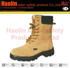 HL-A056 Mens leather anckle safety boots