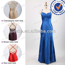 Wholesale Real Sample Sexy Back Open Evening Dress 2012