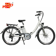 "26"" light weight electric lady bicycle"