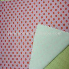Swimming Print Nylon spandex Knitting ealstane red polka dot fabric