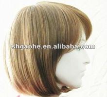 plastic PVC hairpiece model,hair mould