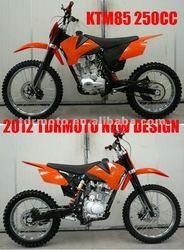 2014 New 250cc Dirt Bike Motocross Pitbike Motorcycle PIT BIKE ORANGE COLOR Motocross Big Foot Wheel Racing Fiddy KTM85 Hot Sale