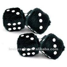 New Hanging Mirror Soft Plush Dice