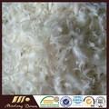 Washed branco de penas de ganso 6 cm para atacado