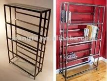 modern bedroom bookcase/design metal bookcase