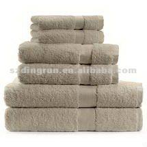 100% cootton cam border hotel towel