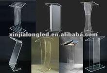 Various Kinds of Plexiglass Dais Lucite Dais Acrylic Lectern Acrylic Pulpit Factory Price