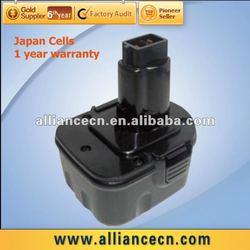 12V Cordless Drill Battery for Dewalt DE9501, DW9072