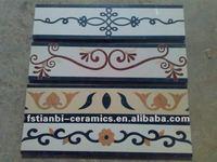 polished border for skirting,bathroom border tiles