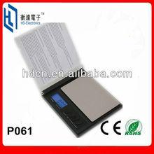 Mini portable CD balance pocket scale