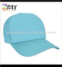 fashion blank 5 panel foam mesh trucker cap