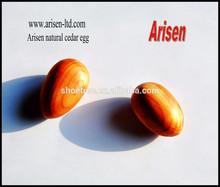 Surgido Natural de madera de cedro huevo
