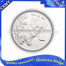silver pet society coins of panda