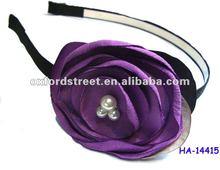 2012 Fashion plastic head band, purple vogue head bang HA-14415