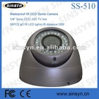 1/3 SONY CCD IR Varifocal Security Cameras outdoor/indoor