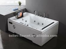 Luxury TV massage bathtub M-D278