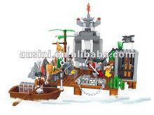 AUSINI 285pcs Pirate new kids toys for 2012