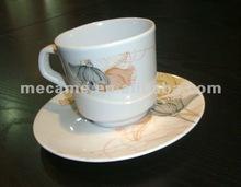 803 Melamine Tea Cup&Saucer 75+60G