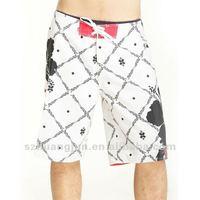 printing peach skin for beach shorts