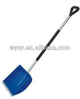 Aluminium tube Snow shovel against the cold and UV