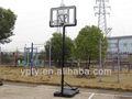 Portatile regolabile in altezza esterna/interna basket stand